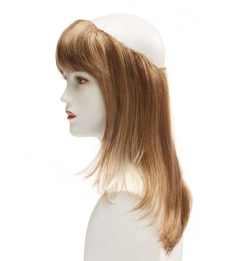 Γυναικείο συνθετικό ποστίς με αφαιρούμενη φράντζα, μήκος μαλλιών Belle Madame 30cm Cap Hair Long